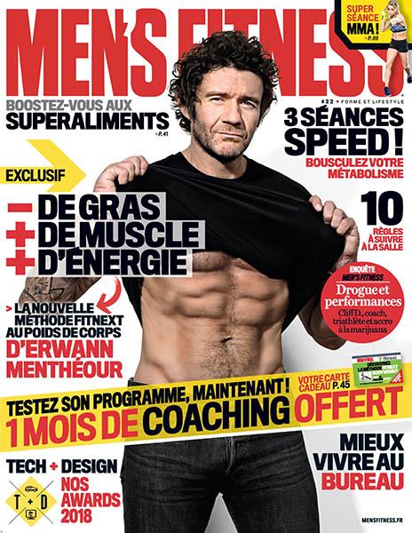 Men's Fitness No. 22 - Mars 2018