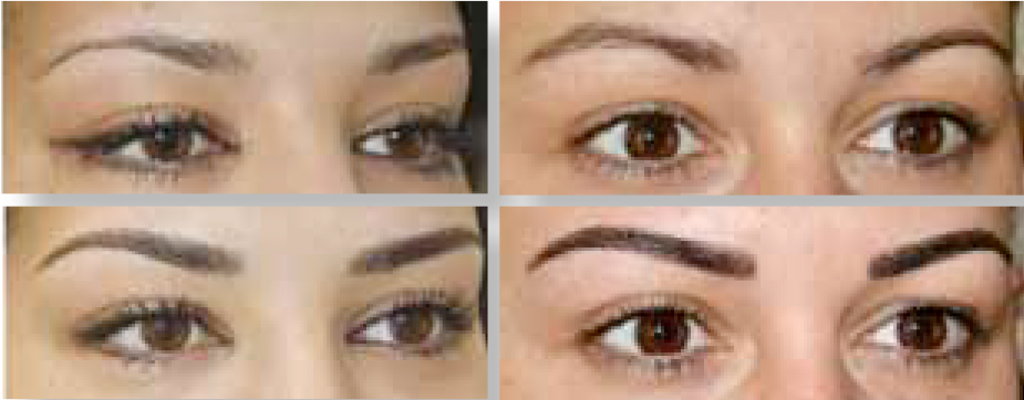 hair stroke maquille sourcils