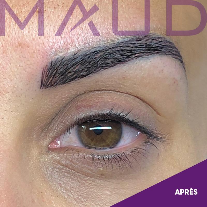 Maquillage permanent SOS Après